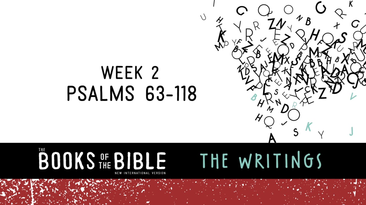 The Books of the Bible - The Writings - Study Gateway